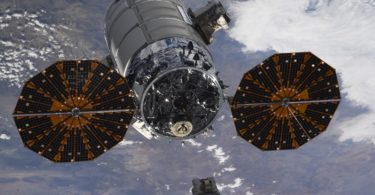 Latest At The Space Station Arrival Of The British Radio Antenna