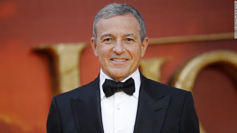 The CEO of Disney Bob Iger replaced by Bob Chapek.