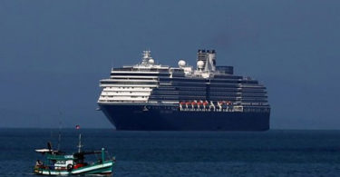'Pariah' Cruise Docks after the Rejection from 5 Ports due to Coronavirus Threat