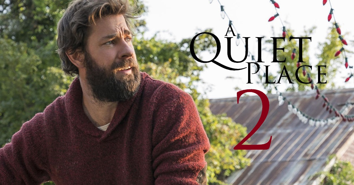 John Krasinski talked about his upcoming paranormal film A Quiet Place Part 2